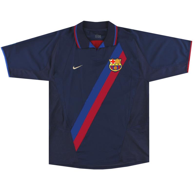 2002-04 Barcelona Away Shirt XXL