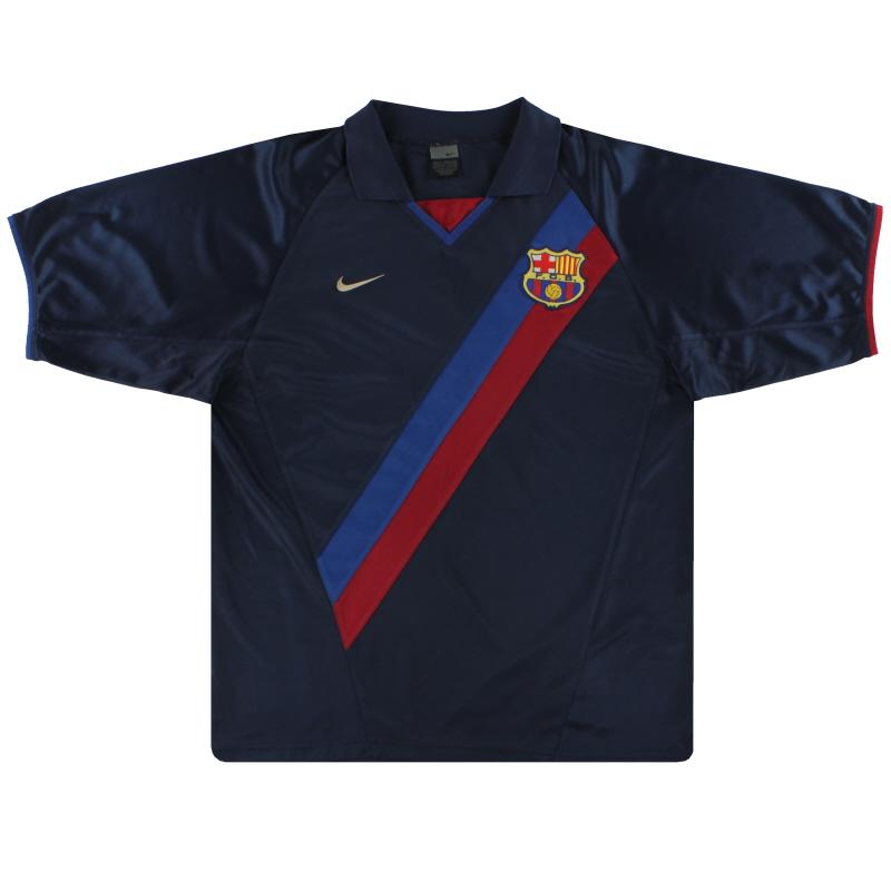 2002-04 Barcelona Nike Basic Away Shirt L - 184636