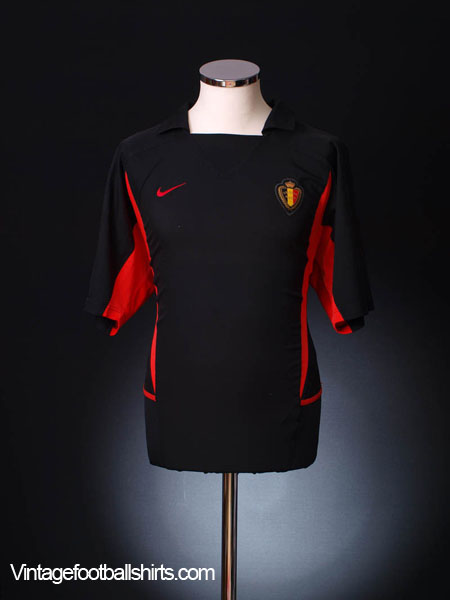 2002-04 Belgium Away Shirt L