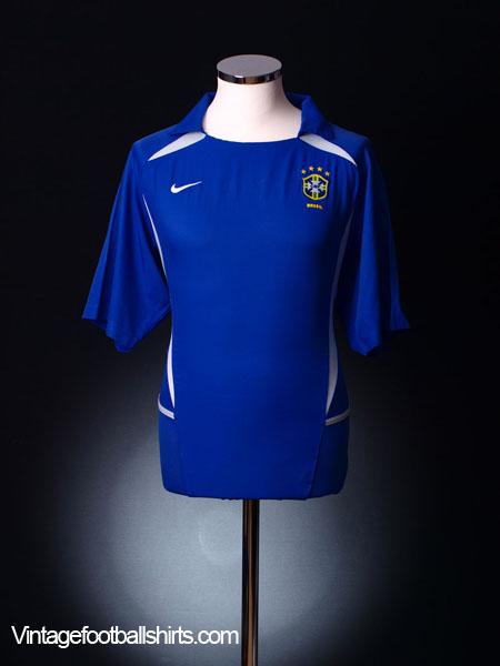 2002-04 Brazil Away Shirt XXL