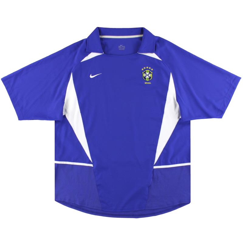 2002-04 Brazil Nike Away Shirt XL