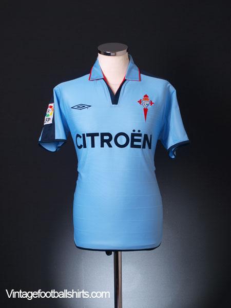 2002-04 Celta Vigo Home Shirt S