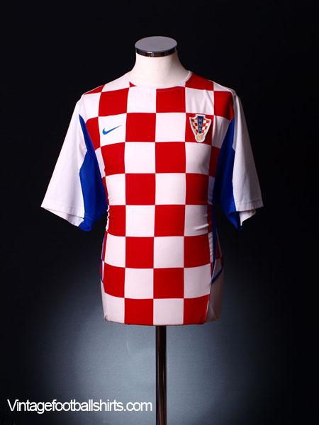 2002-04 Croatia Home Shirt XL