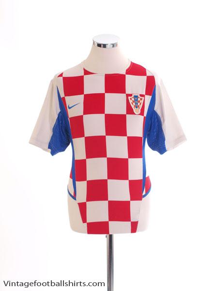 2002-04 Croatia Home Shirt L - 181556