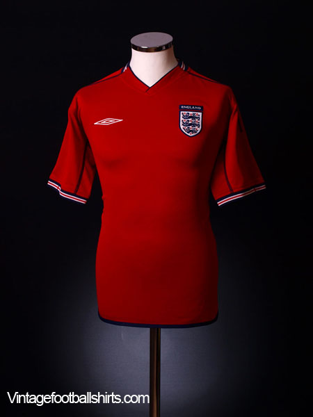 2002-04 England Away Shirt XL