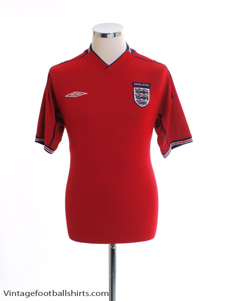 2002-04 England Away Shirt L