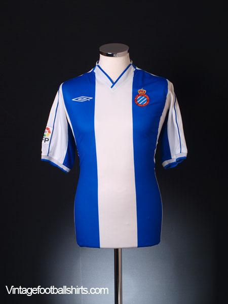 2002-04 Espanyol Home Shirt L