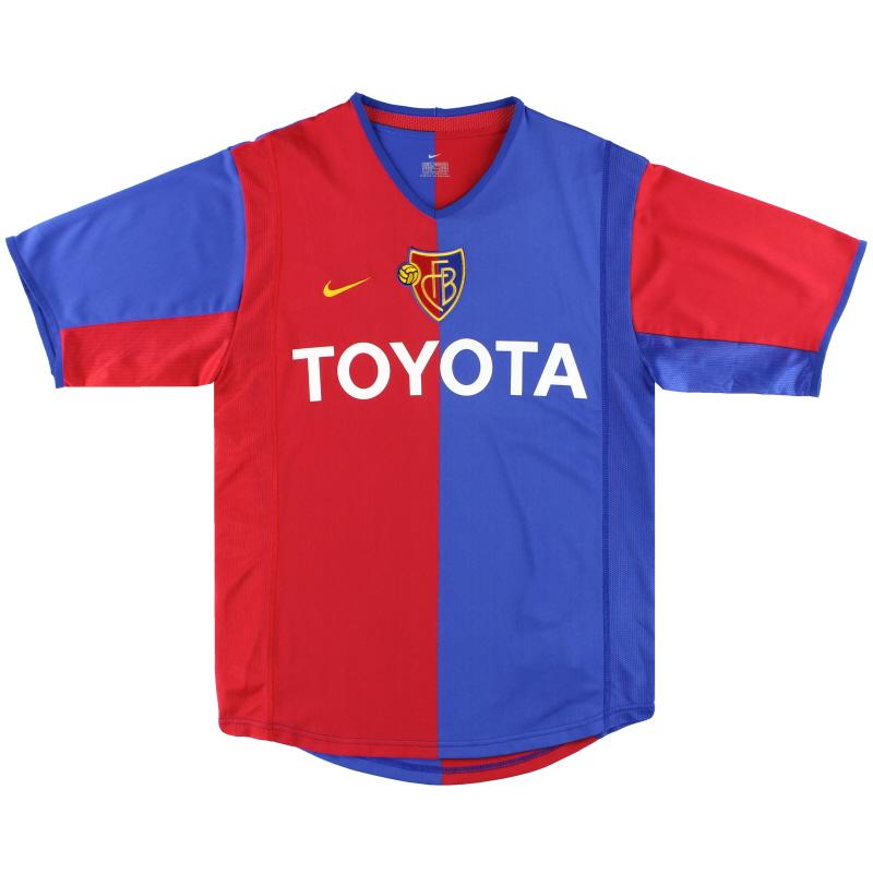 2002-04 FC Basel Nike Home Shirt S - 112711
