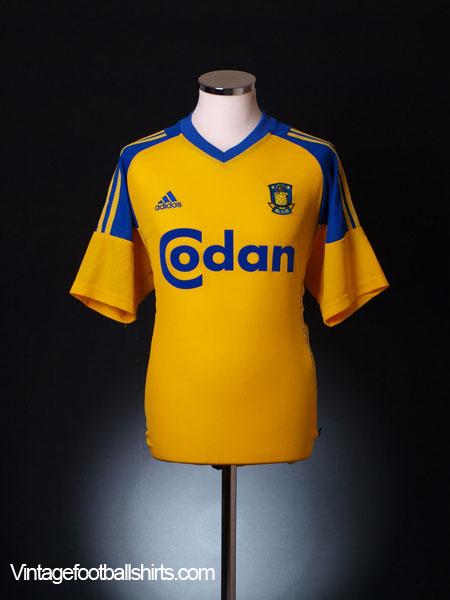 2002-04 FC Brondby Home Shirt M