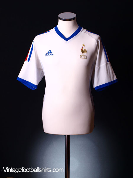 2002-04 France Away Shirt XL