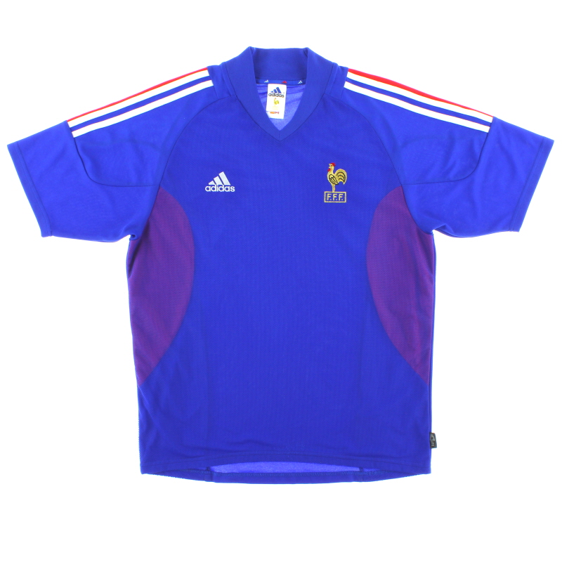 2002-04 France Home Shirt M - 298742