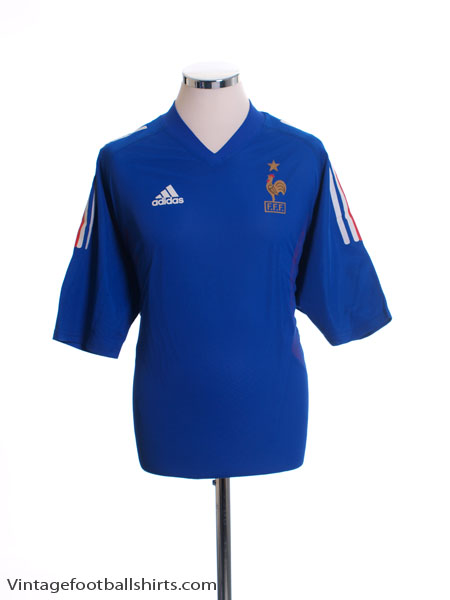 2002-04 France Player Issue Home Shirt *BNWT* L