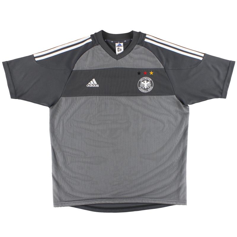 2002-04 Germany adidas Away Shirt #13 L - 298631