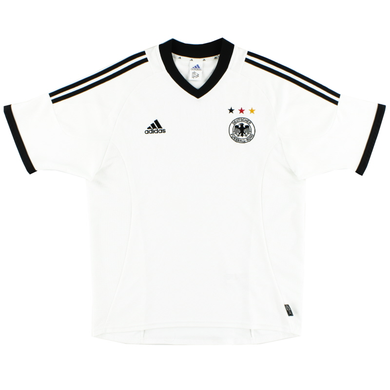 2002-04 Germany Home Shirt *Mint* XXL - 299637