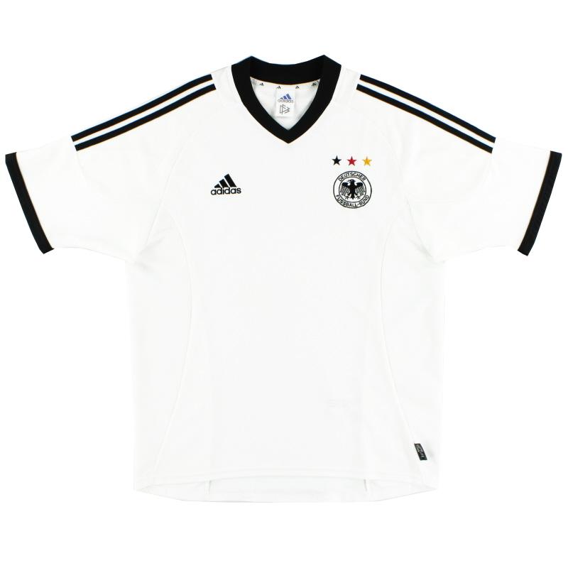 2002-04 Germany Home Shirt S - 299637