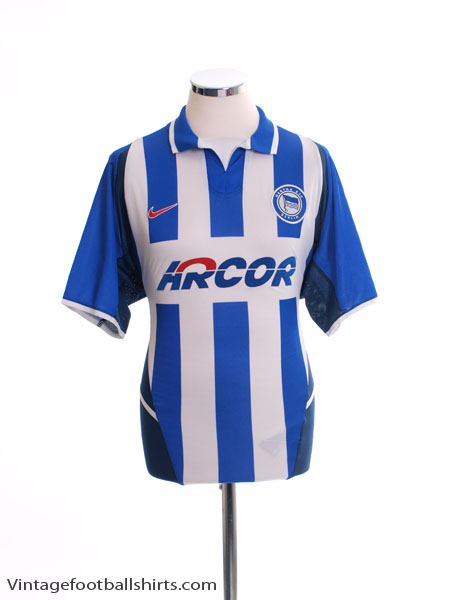 2002-04 Hertha Berlin Home Shirt M