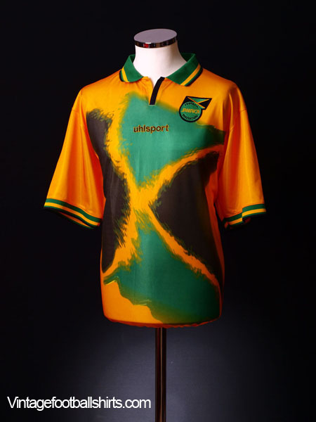 2002-04 Jamaica Home Shirt *As New* XL