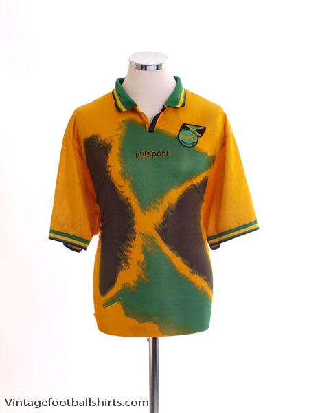 2002-04 Jamaica Home Shirt XL