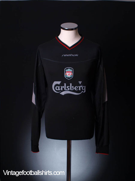 2002-04 Liverpool Away Shirt L/S XL