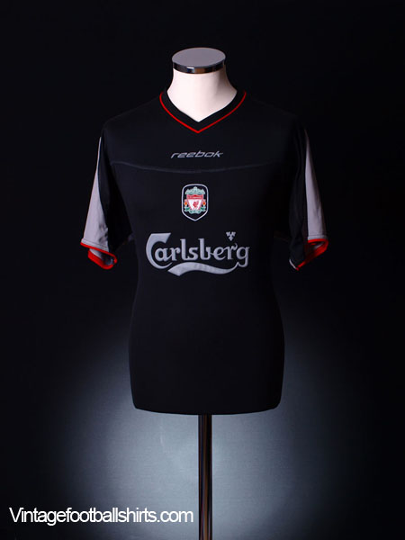 2002-04 Liverpool Away Shirt M