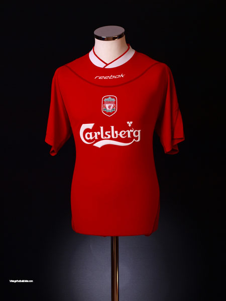 2002-04 Liverpool Home Shirt L