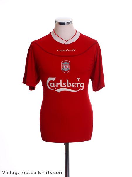 2002-04 Liverpool Home Shirt *Mint* XL