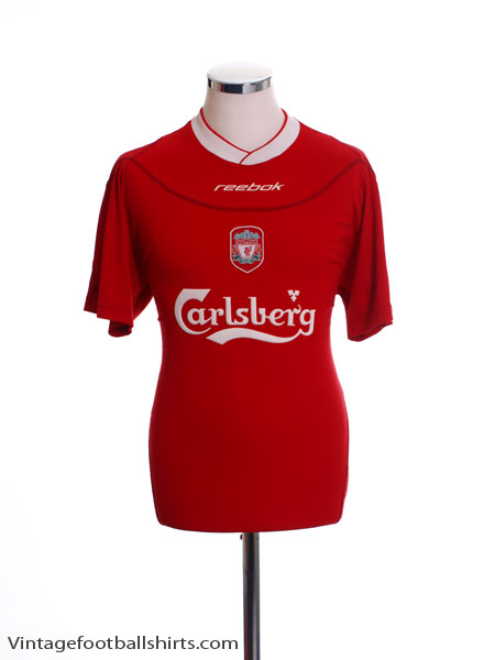 2002-04 Liverpool Home Shirt XL