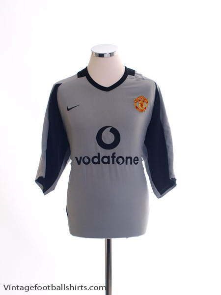 2002-04 Manchester United Goalkeeper Shirt XL