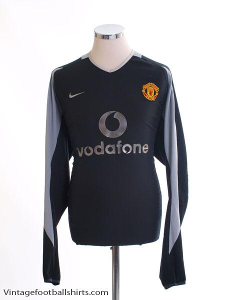 2002-04 Manchester United Goalkeeper Shirt XL