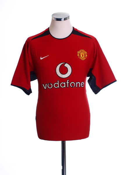 2002-04 Manchester United Home Shirt L.Boys - 184947