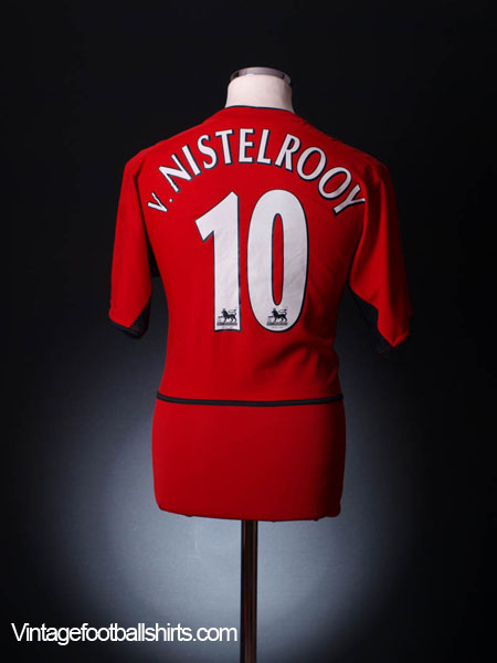 2002-04 Manchester United Home Shirt v.Nistelrooy #10 S