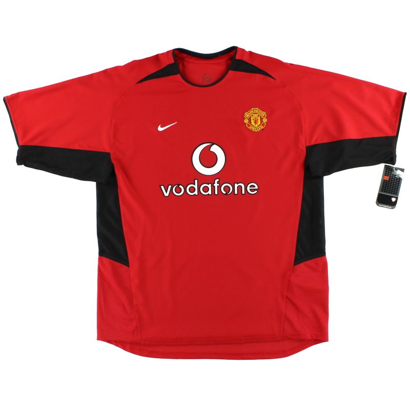 2002-04 Manchester United Nike Home Shirt *w/tags* XL - 184947