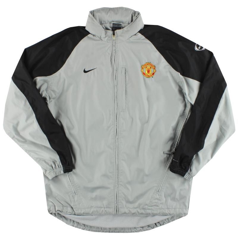 2002-04 Manchester United Nike Hooded Rain Coat L  - 112691