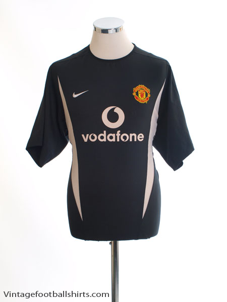 2002-04 Manchester United Training Shirt M