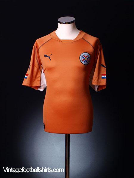 2002-04 Paraguay Away Shirt L