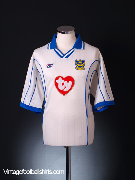 2002-04 Portsmouth Third Shirt XL