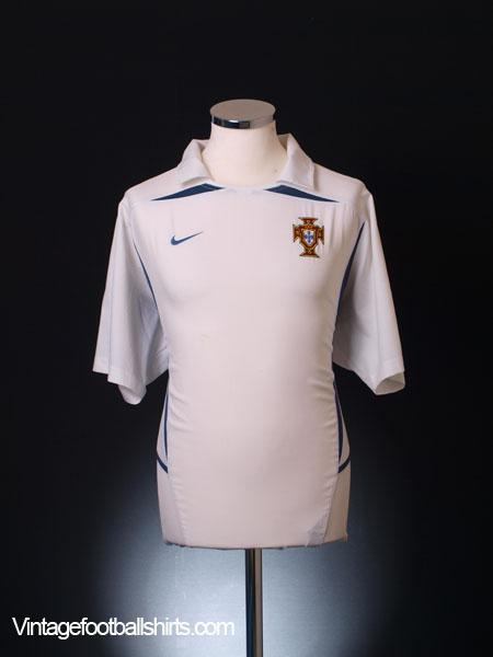 2002-04 Portugal Away Shirt XL