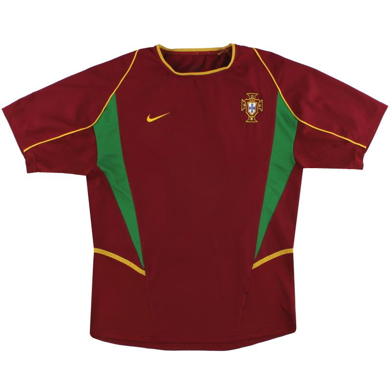 2002-04 Portugal Nike Home Shirt *Mint* L - 182231