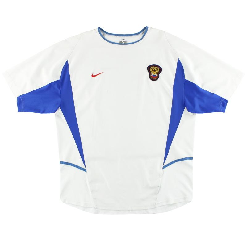 2002-04 Russia Nike Home Shirt XL