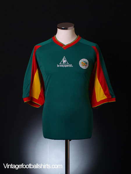 2002-04 Senegal Away Shirt *As New* XL