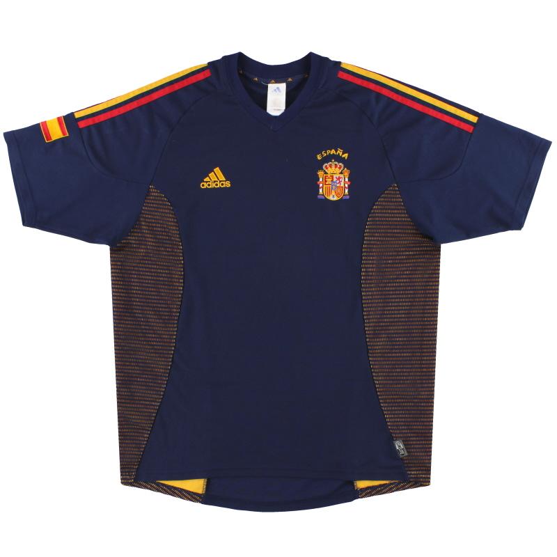 2002-04 Spain adidas Third Shirt L - 298467