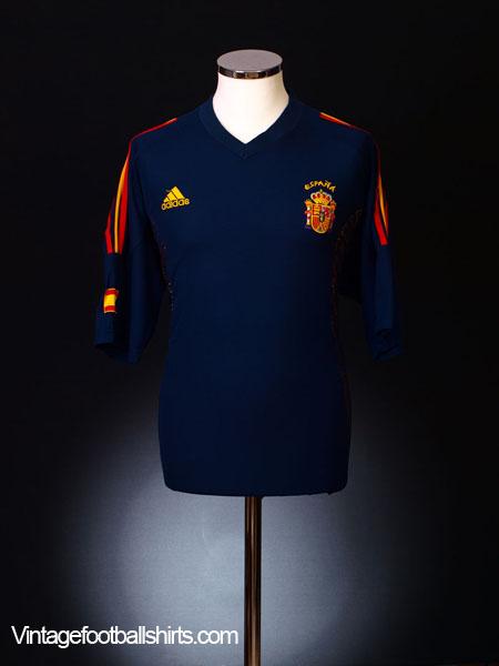 2002-04 Spain Third Shirt L