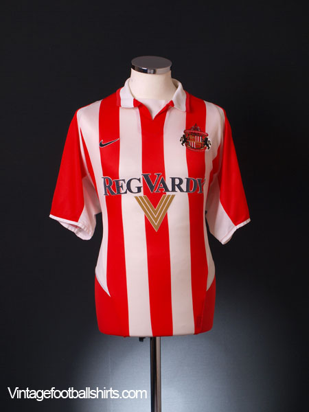 2002-04 Sunderland Home Shirt M