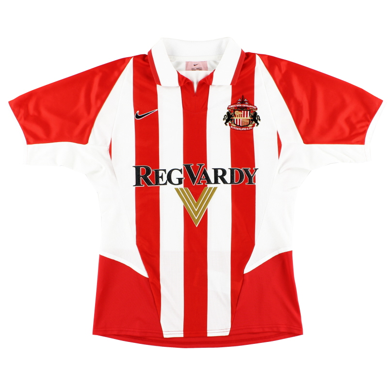 2002-04 Sunderland Home Shirt S - 185190
