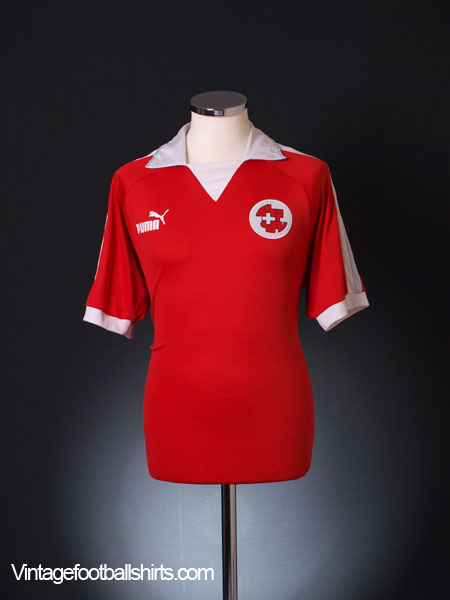 2002-04 Switzerland Home Shirt M