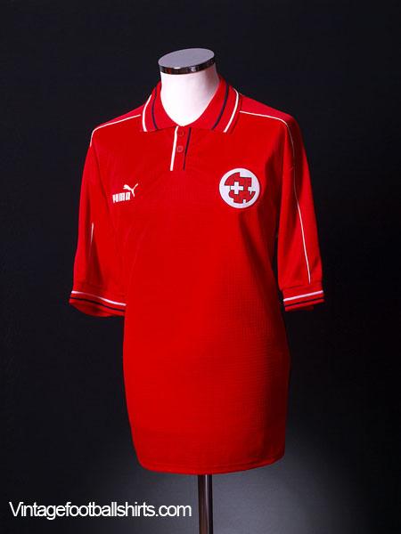 2002-04 Switzerland Home Shirt *As New* XL