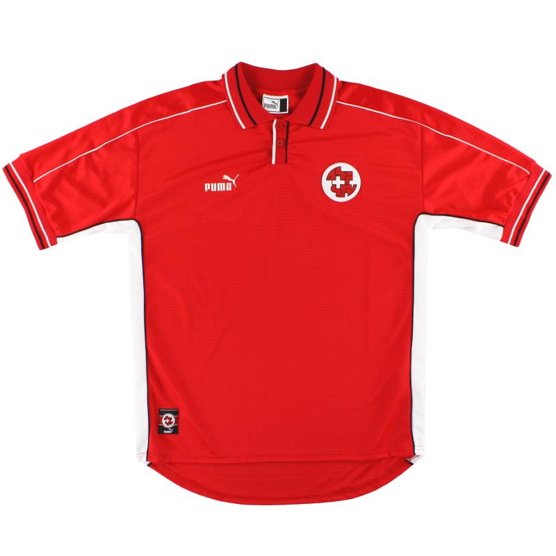 2002-04 Switzerland Puma Home Shirt *As New* XL