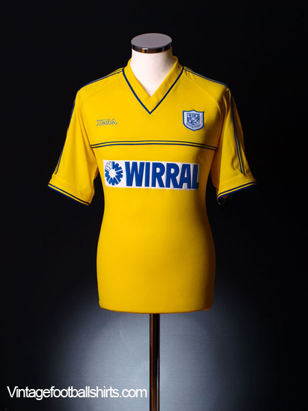 2002-04 Tranmere Rovers Away Shirt XL
