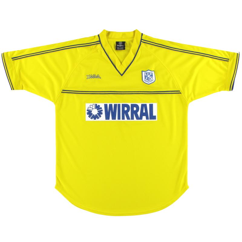 2002-04 Tranmere Rovers Away Shirt *Mint* M