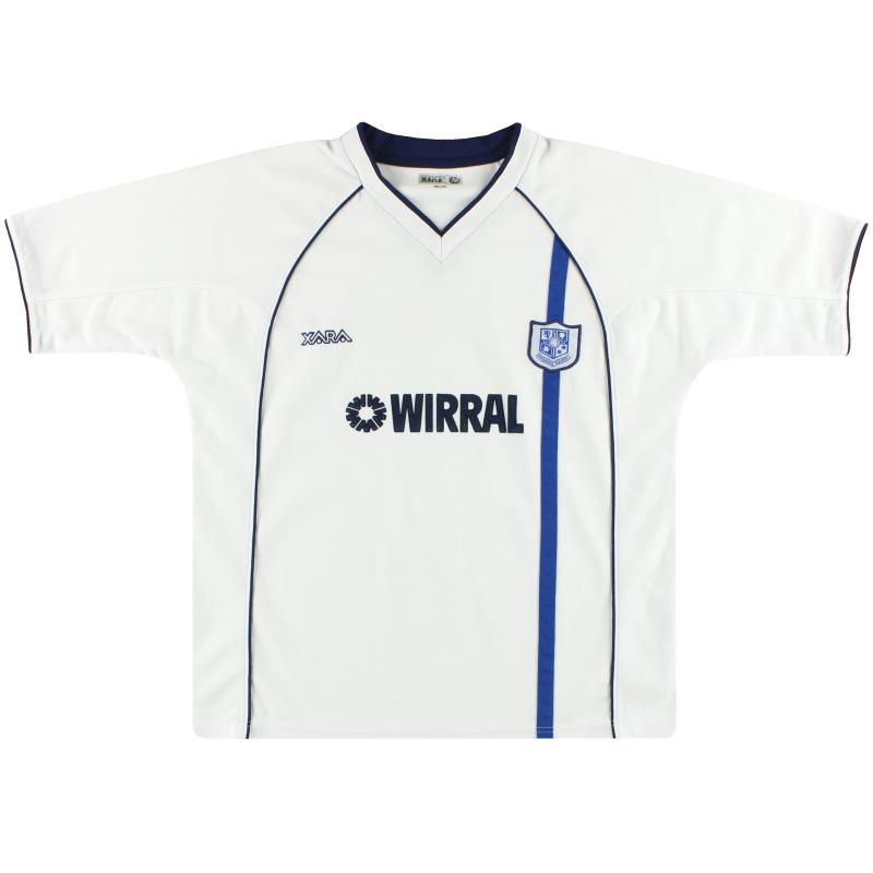 2002-04 Tranmere Rovers Home Shirt M